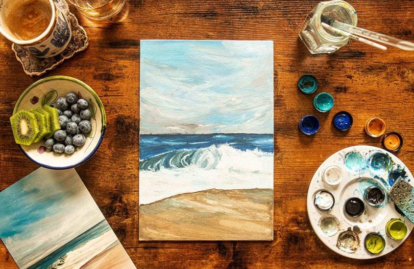 Rediscover Your Love of Painting with the At Home: Mindful Painting – Hope Kit