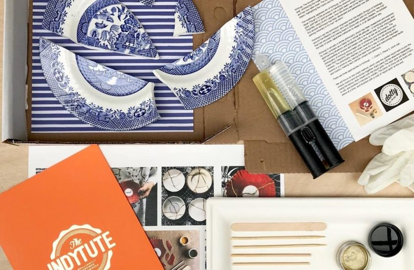 Embrace the Benefits of Japanese Culture with the At Home: Kintsugi Kit