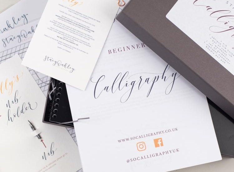 Discover a Wondrous New Way of Writing with the At Home: Calligraphy Workshop