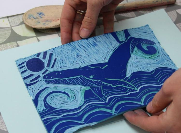 Learn the Classic Art of Creating Prints with the At Home: Lino Cutting Kit