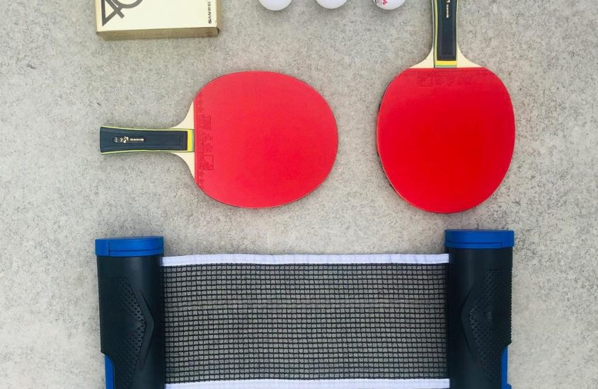 The At Home: Smash Table Tennis Kit Helps You Keep Fit and Stay Social at the Same Time
